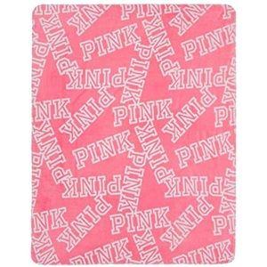 Victoria's Secret pink blanket